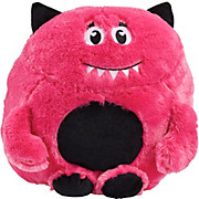 Plüschtier Little Monster - Türkis/Pink, MODERN, Textil - LUCA BESSONI