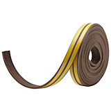 Profildichtung Braun - Braun, KONVENTIONELL, Kunststoff (6cm) - HOMEZONE