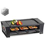 Raclette-Grill Pizza - Schwarz, MODERN, Kunststoff (48/22,5/13,5cm)