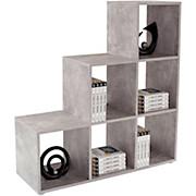 Raumteiler Pisa 3 - Grau, MODERN, Holzwerkstoff (112/114/35cm)