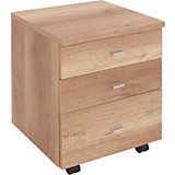 Rollcontainer 4-You - Eichefarben, MODERN, Holz (43/53/40cm)