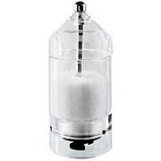 Salz- oder Pfeffermühle Smaragd - Transparent, KONVENTIONELL, Kunststoff (13,5cm)