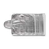 Scheibenabdeckung Elenore - Alufarben, KONVENTIONELL, Kunststoff/Textil (70/200cm) - HOMEZONE