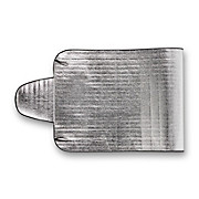 Scheibenabdeckung Elenore - Alufarben, KONVENTIONELL, Kunststoff/Textil (85/230cm) - HOMEZONE