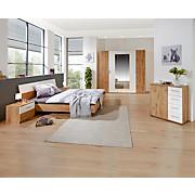 Schlafzimmer Katrin - Eichefarben/Weiß, KONVENTIONELL, Holzwerkstoff (225/210/58cm)