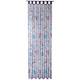 Schlaufenvorhang Frozen - Blau, LIFESTYLE, Textil (140/250cm) - DISNEY