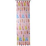 Schlaufenvorhang Princess - Rosa, LIFESTYLE, Textil (140/250cm) - DISNEY