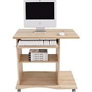 Schreibtisch Olin - Buchefarben, MODERN, Holzwerkstoff (78/75/50cm)