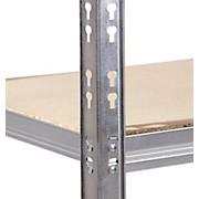 Schwerlastregal Strong 80/177/30 Grau - Grau, KONVENTIONELL, Holzwerkstoff/Metall (80/177/30cm)