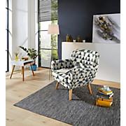 Sessel Somero - Multicolor/Naturfarben, MODERN, Holz/Holzwerkstoff (89/86/78cm) - OMBRA