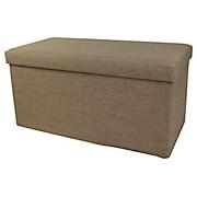 Sitzbox Classic Braun - Braun, MODERN, Holzwerkstoff/Textil (76/38/38cm)
