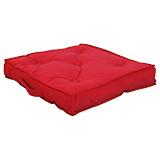 Sitzkissen Anca - Rot, KONVENTIONELL, Textil (40/40/8cm) - OMBRA