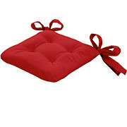 Sitzkissen Henri - Rot, KONVENTIONELL, Textil (40/40/6cm) - OMBRA