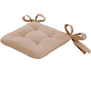 Sitzkissen Henri - Sandfarben, KONVENTIONELL, Textil (40/40/6cm) - OMBRA