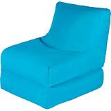 Sitzsack Billy Blau - Blau, MODERN, Textil (80/70/80cm)