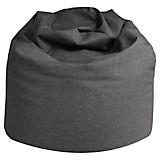Sitzsack Buzz Soft - Grau, MODERN, Textil (85/120/85cm)