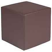 Sitzwürfel Andi - Braun, MODERN (45/45/45cm)