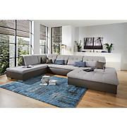 Sjedeća Garnitura Sjedeća Garnitura - boje blata/siva, Moderno, tekstil (226/368/189cm)