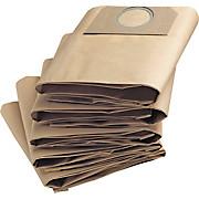 Staubsaugerbeutel Gute Filterleistung - Braun, KONVENTIONELL, Papier (8/21/31cm) - KÄRCHER