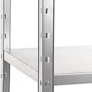Steckregal Shelf 80/151/40 Grau - Grau, KONVENTIONELL, Metall (80/151/40cm)