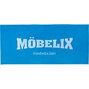 Strandtuch Möbelix - Blau/Weiß, KONVENTIONELL, Textil (70/150cm)