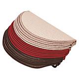 Stufenmatte Birmingham -  Beige/braun - Beige/Braun, KONVENTIONELL, Textil (25/65cm)