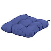 Stuhlkissen Elli - Blau, KONVENTIONELL, Textil (40/40/6cm) - OMBRA