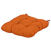 Stuhlkissen Elli - Orange, KONVENTIONELL, Textil (40/40/6cm) - OMBRA