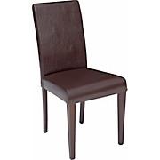 Szék John - barna/wenge színű, konvencionális, textil/faanyagok (44,5/92,3/59cm)