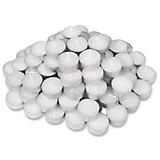 Teelicht Candie, 75 Stück - Weiß, KONVENTIONELL (36 mmcm) - OMBRA
