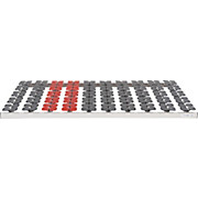 Tellerlattenrost Primatex 700 90x200cm - (90/200cm) - PRIMATEX