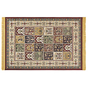 TEPPICH Isphahan,160x230cm - Beige/Rot, KONVENTIONELL, Textil (160/230cm)