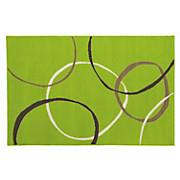Teppich Lime - Grün, KONVENTIONELL, Textil (160/225cm)
