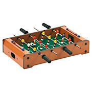 Tischfußball Kompakt für 2 Spieler - Gelb/Rot, Holz (50/31/10cm)
