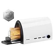 Toaster Toast & Slide - Schwarz/Weiß, MODERN, Kunststoff (36/15/20,5cm)