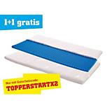 Topper Start H2 90x200 - Weiß, KONVENTIONELL, Textil (200/90/7cm) - PRIMATEX