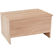 Truhenbank Lucas 1 - Sonoma Eiche, MODERN, Holzwerkstoff (100/44/42cm)