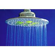 Überkopfbrauseset LED Shower - Chromfarben, MODERN, Kunststoff/Metall (22/97cm)