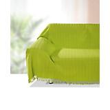 Überwurf Irina - Grün, KONVENTIONELL, Textil (140/210cm) - OMBRA