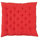 Ülőpárna Agatha - piros, konvencionális, textil (40/40/6cm) - OMBRA