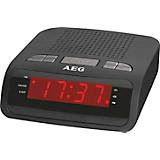 Uhrenradio Uhrenradio - Schwarz, KONVENTIONELL, Kunststoff (15,5/11,7/7,3cm) - AEG