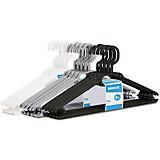 Vállfa Szett 107200 - fekete/fehér, konvencionális, műanyag (40/6/21cm)
