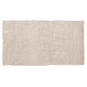 Vorleger Dora - Weiß, KONVENTIONELL, Textil (70/140cm) - OMBRA