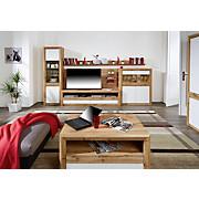 Wandboard Kashmir New - Eichefarben, MODERN, Holzwerkstoff (120/20/20cm) - JAMES WOOD