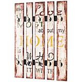 Wandgarderobe Vintage Big Home - Multicolor, MODERN, Holzwerkstoff/Metall (70/100/10cm)