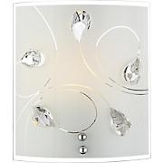 Wandleuchte Aliviallivia - KONVENTIONELL, Glas/Metall (19/17cm) - JAMES WOOD