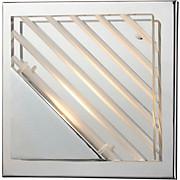 Wandleuchte Mia - KONVENTIONELL, Kunststoff/Metall (15/15/6,5cm)