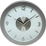 Wanduhr Astra - Silberfarben, KONVENTIONELL, Kunststoff (30cm)