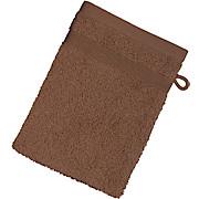 Waschhandschuh Braga - Braun, MODERN, Textil (16/21cm) - LUCA BESSONI