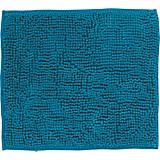 WC-vorleger Anke, mit/ohne Schnitt - Petrol, MODERN, Textil (45/50cm) - LUCA BESSONI